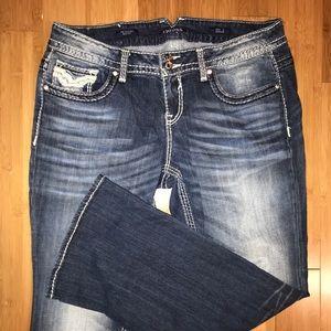 """Vigoss """"The Chelsea"""" Plus Size Jeans size 18"""
